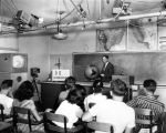 Television invades Valley classroom