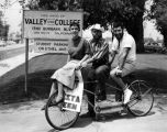 Pedaling for votes