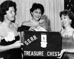 "Treasure chest for St. Martin's School ""Riverboat"" benefit"