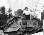 Donates WWI tank to Traveltown