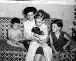 Little cowboy's come home