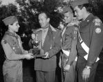 Scouts awarded Mayor's trophy