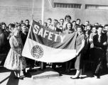 Raise safety flag at junior high