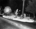 L.A. founding in city float