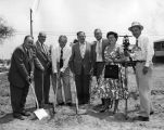 Break ground at Burbank