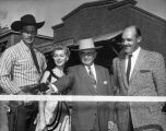 Western style ribbon cutting