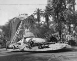 This is the way Burbank's float looked in 1961