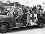 Red Cross campaign volunteers