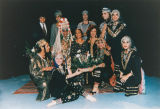 Yemenite group in traditional dress