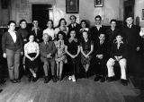 Graduating class at Jewish school