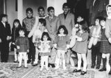 Iranian children at birthday party