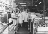 Drugstore owner and employees