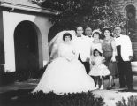 Armenian American wedding party