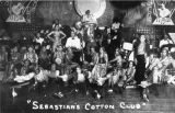 Performers onstage at Sebastian's Cotton Club
