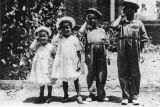 Children saluting