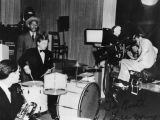 Mickey Rooney on drums