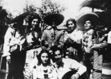 Mexican Americans dressed for 16th of September