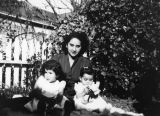 Mexican American woman with children