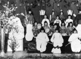 Japanese children in performance