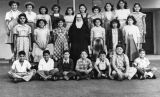 Class picture from Holy Family Grammar School