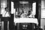 Cardinal celebrating mass at St. Bridget's
