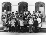 Group of Chinese American students from Castelar School