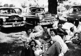 Japanese Americans at picnic