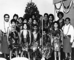 Youth group at Christmas program