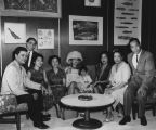Filipino Americans with Miss Philippines 1965