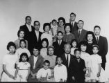 Korean American grandparents with family
