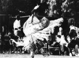 American Indian woman dancer