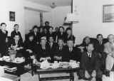 Japanese Americans in living room