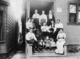 Boardinghouse, a group photo