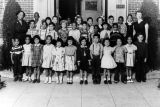 Class photo, Virginia Road Elementary School