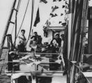 Mexican Americans on tuna boat