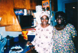 Tayo and her mother, Olu