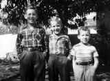 Robert Golish and his brothers