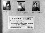 Rugby game ticket