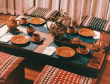 Traditional Latvian table setting