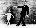 Child actress performing with Gene Kelly