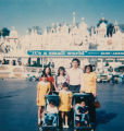 Family at Disneyland