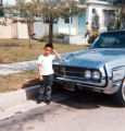 Boy and an Oldsmobile