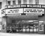 Marquee, Wilshire Theater