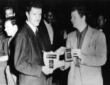 Herb Jeffries with awards