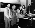 Nat King Cole radio performance