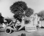 Arizona Federation of Colored Women's Clubs parade float