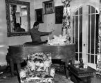 House damaged during Bugsy Siegel murder