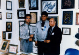 Calligraphy exhibit at Iran Expo