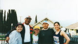 Los Angeles Marathon supporters