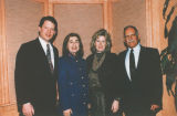 Vice President Gore with wife and friends